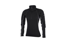 Salewa Hyder PL Women&#039;s L/S Zip Tee carbon
